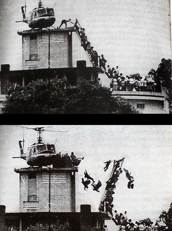 Sách ảnh Sài Gòn in nhầm ảnh chế dòng người di tản 1975  - Ảnh 2.