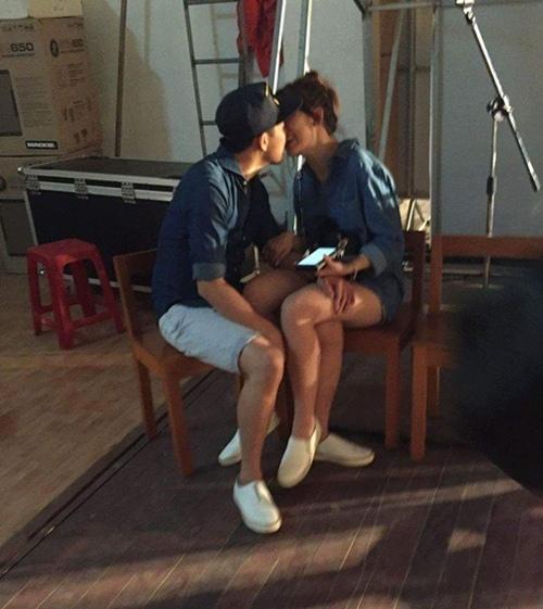 Rò rỉ hình ảnh thân mật của Hari Won và Trấn Thành  - Ảnh 3.