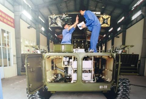Việt Nam tự nâng cấp hệ thống Strela-10M  - Ảnh 1.