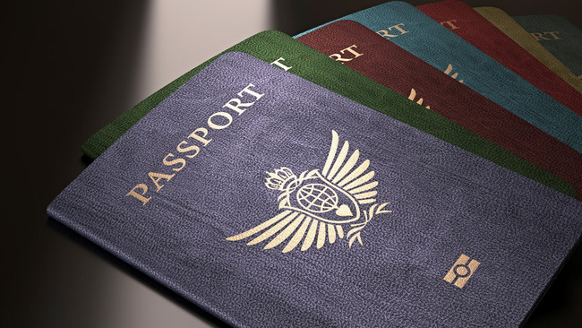 Bí mật về màu sắc trên cuốn hộ chiếu của các nước - Ảnh 1.