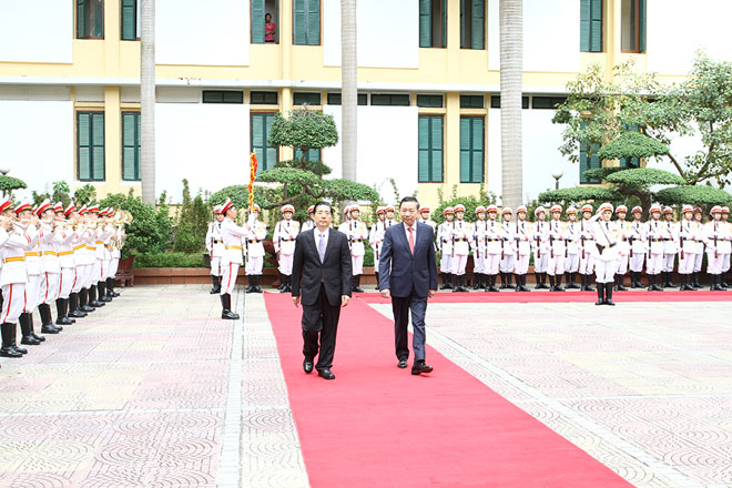 Tăng cường hợp tác phòng, chống tội phạm giữa Bộ Công an Việt Nam và Bộ Công an Trung Quốc  - Ảnh 1.