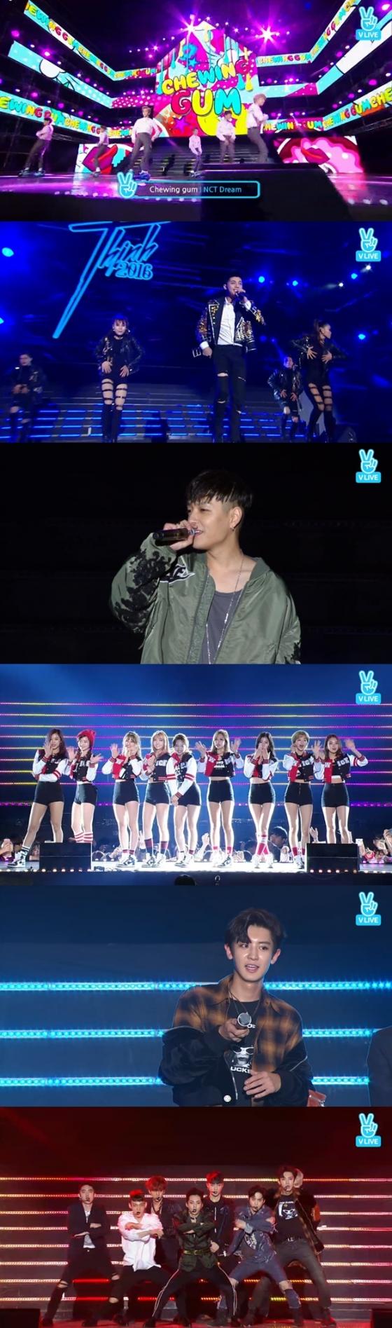 Thái độ fan Hàn Quốc khi Noo Phước Thịnh biểu diễn - Ảnh 1.