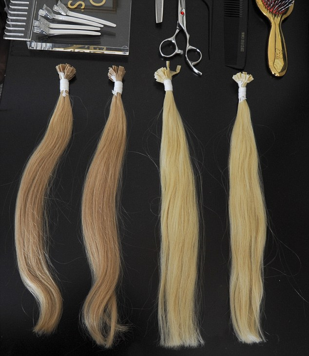 Sự thật đằng sau những bộ tóc nối có giá hàng chục triệu đồng - Ảnh 6.