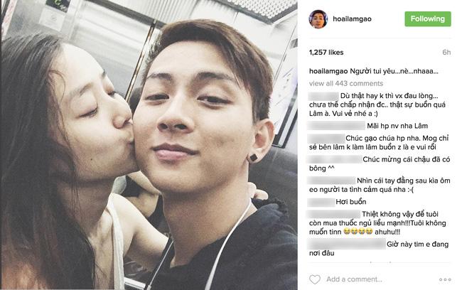 Hoài Lâm công khai người yêu xinh như hot girl, tiết lộ ảnh hôn nhau tình tứ - Ảnh 1.