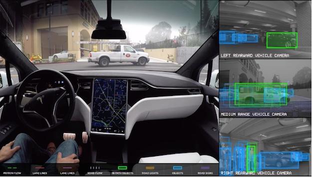 Chế độ tự lái của xe Tesla nhìn mọi thứ xung quanh như thế nào? - Ảnh 1.