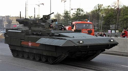 Nga trang bị pháo 57mm trên xe BMPT thế hệ mới - Ảnh 2.