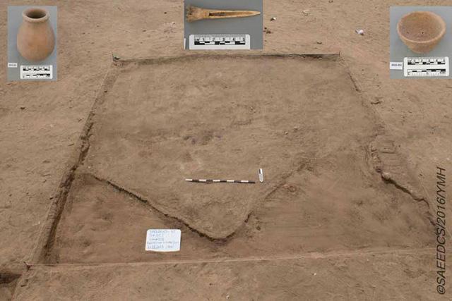 Các nhà khảo cổ phát hiện ra thành phố Ai Cập 7.000 năm tuổi, có những ngôi mộ lớn hơn cả lăng mộ hoàng gia - Ảnh 1.