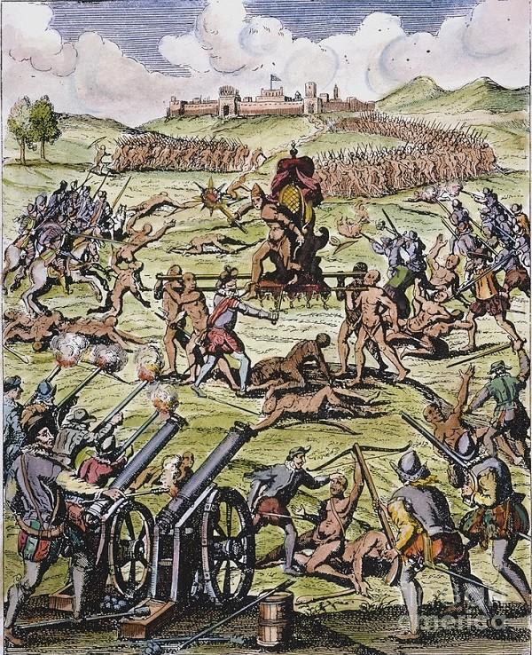 Đế chế Inca và thất bại khó tin: 8000 quân tan nát dưới họng súng của 168 người - Ảnh 4.