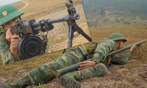 Chiến sĩ Tân Trào trên thao trường nắng gió - Ảnh 2.