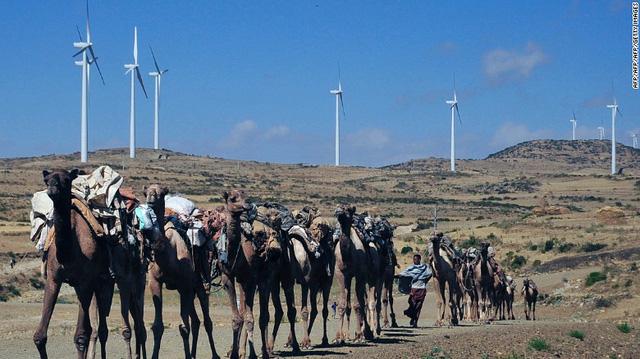 Chỉ có 26% người dân có điện để sử dụng, quốc gia nghèo ở Đông Phi vẫn quyết tâm sử dụng điện gió để bảo vệ môi trường - Ảnh 1.
