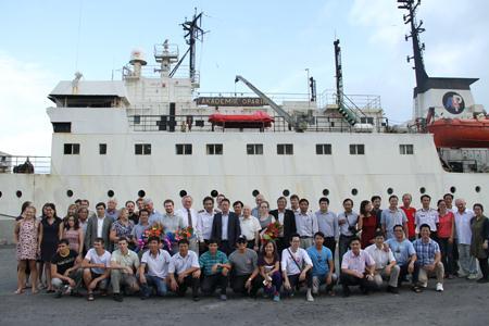 Nhà khoa học Việt nghiên cứu Biển Đông trên tàu Nga  - Ảnh 2.