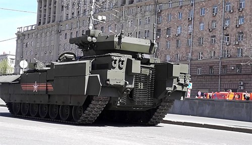 BMPT T-15 là ý tưởng đặc biệt dành cho tác chiến hiện đại - Ảnh 1.