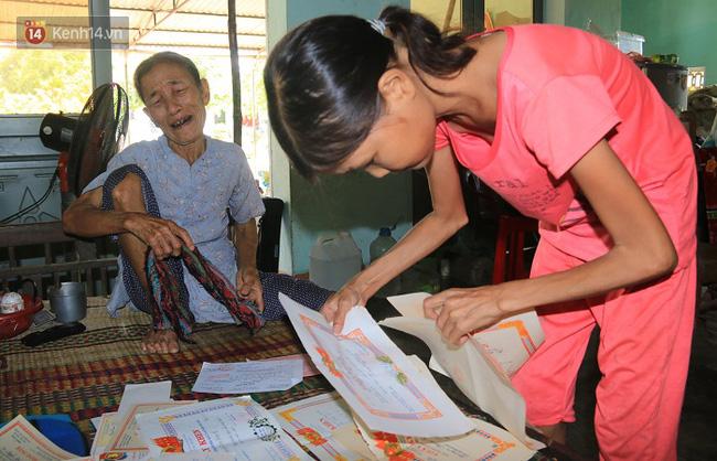 Cô gái mang khuôn mặt bà lão ở Quảng Nam: ăn gấp 10 lần người thường, uống mỗi ngày 36 lít nước - Ảnh 11.