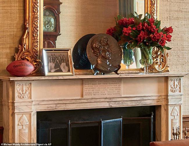 Có gì trong những căn phòng sinh hoạt của Tổng thống Obama và gia đình tại Nhà Trắng? - Ảnh 12.
