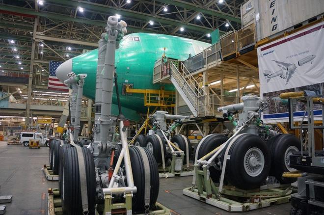 Cận cảnh nhà máy của Boeing - nơi lắp ráp nên chiếc 747 huyền thoại - Ảnh 13.