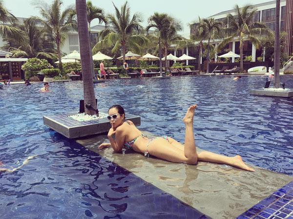 Em gái siêu mẫu Hà Anh nóng bỏng không kém gì chị gái  - Ảnh 14.