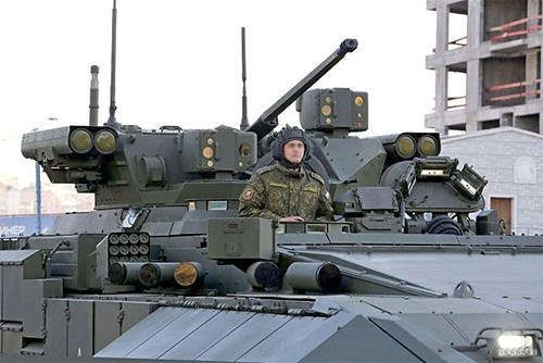 BMPT T-15 là ý tưởng đặc biệt dành cho tác chiến hiện đại - Ảnh 2.