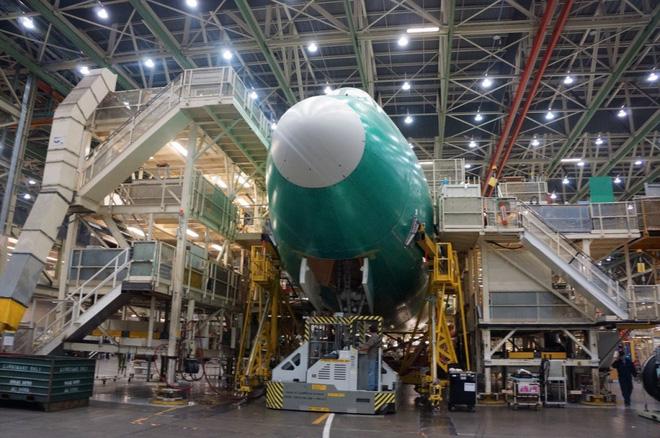 Cận cảnh nhà máy của Boeing - nơi lắp ráp nên chiếc 747 huyền thoại - Ảnh 16.