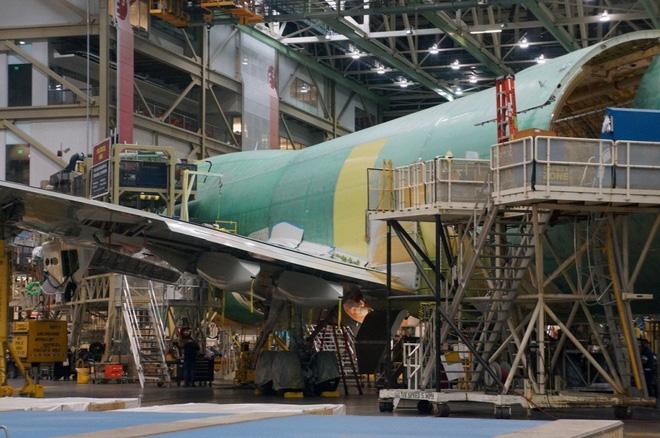 Cận cảnh nhà máy của Boeing - nơi lắp ráp nên chiếc 747 huyền thoại - Ảnh 17.