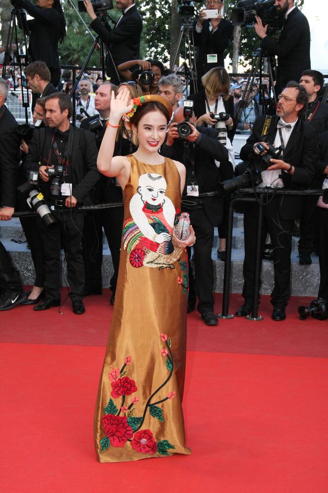 8 giây may mắn của Angela Phương Trinh trên thảm đỏ Cannes: Đừng biến nó thành cú nổ của sự ảo tưởng - Ảnh 3.