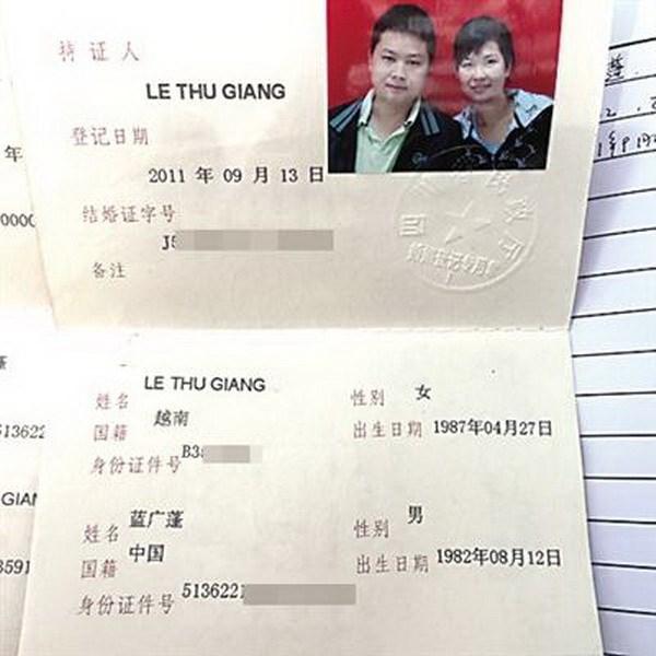 Báo Trung Quốc kêu gọi giúp đỡ cô dâu Việt mắc bệnh hiểm nghèo - Ảnh 1.