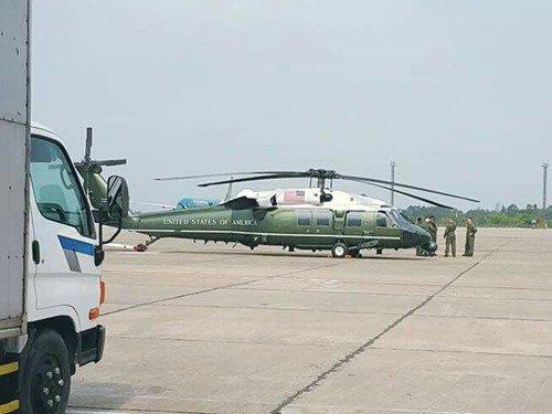 Vì sao Obama không dùng 2 trực thăng hộ tống ở VN? - Ảnh 1.