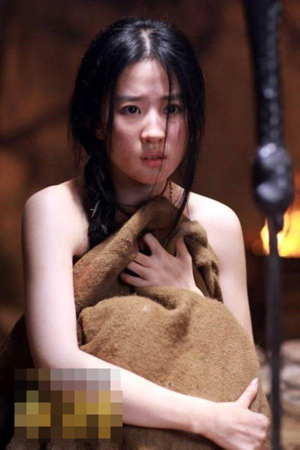 Đốt mắt với tạo hình cổ trang khoe vai trần của mỹ nữ Hoa ngữ - Ảnh 2.