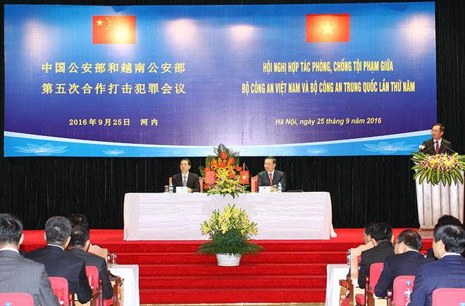 Tăng cường hợp tác phòng, chống tội phạm giữa Bộ Công an Việt Nam và Bộ Công an Trung Quốc  - Ảnh 2.