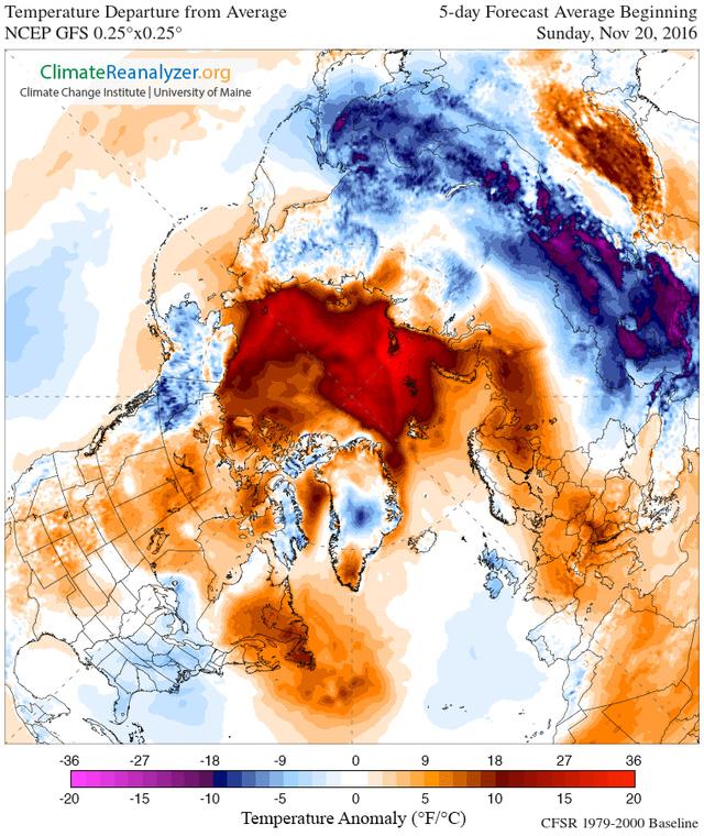 Hiện tượng kì lạ ở Bắc Cực đang khiến chúng ta phải trải qua những hiện tượng thời tiết không bình thường - Ảnh 3.