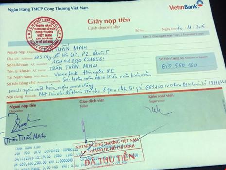 Vụ quẹt thẻ mất gần 700 triệu: Đã trả lại tiền - Ảnh 2.