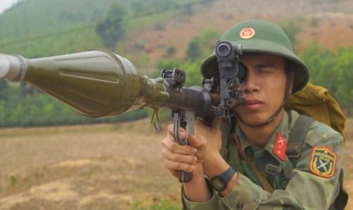 Chiến sĩ Tân Trào trên thao trường nắng gió - Ảnh 3.