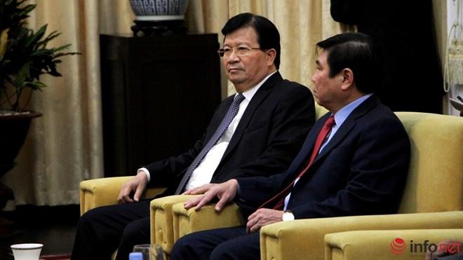 Phút đối thoại thú vị trong cuộc gặp giữa ông Đinh La Thăng và Thủ tướng Lào - Ảnh 2.