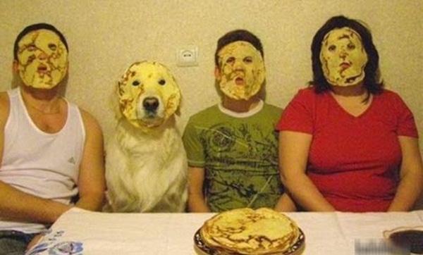 Phát hoảng với những kiểu đắp mặt nạ dọa ma của chị em - Ảnh 3.