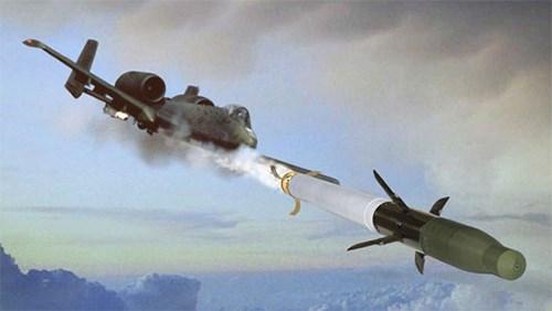 Không quân Mỹ lần đầu tiên sử dụng hỏa tiễn thế hệ mới - Ảnh 3.