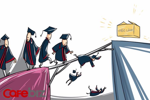 Hí họa: Hàng triệu sinh viên, thạc sĩ tốt nghiệp quay về lấy thêm... chứng chỉ nghề để xin việc - Ảnh 3.