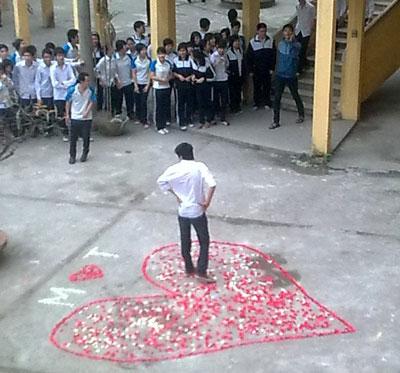 Học sinh Việt tỏ tình gây sốc khiến phụ huynh giật mình - Ảnh 3.