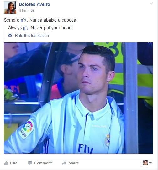 Biểu tượng toàn cầu Ronaldo cũng cần bờ vai của mẹ Dolores - Ảnh 2.