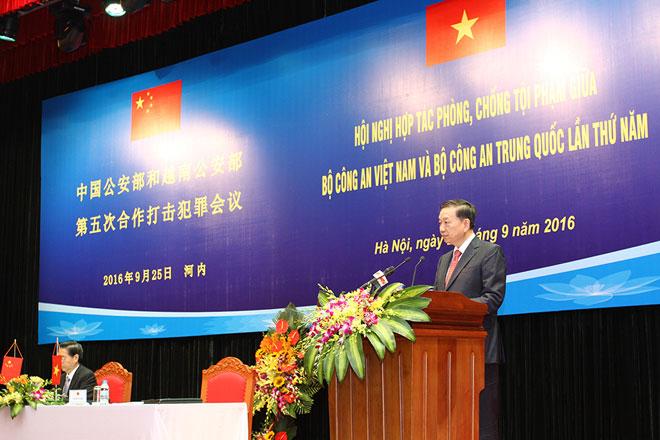 Tăng cường hợp tác phòng, chống tội phạm giữa Bộ Công an Việt Nam và Bộ Công an Trung Quốc  - Ảnh 3.