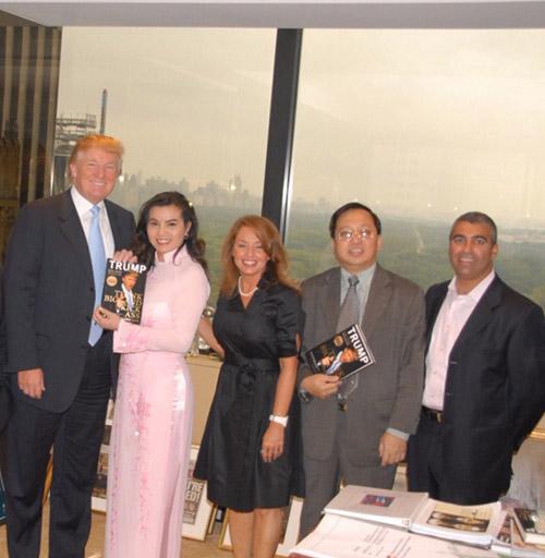 Đây là HH Việt duy nhất được Tân Tổng thống Mỹ tặng sách, khen mặc áo dài đẹp! - Ảnh 3.