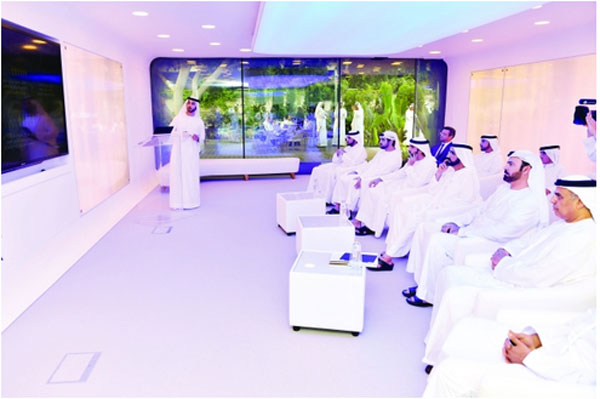 Dubai: Văn phòng in 3D đầu tiên trên thế giới, xây trong 17 ngày, giá bằng một nửa nhà thường - Ảnh 4.