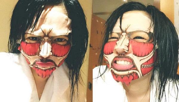 Phát hoảng với những kiểu đắp mặt nạ dọa ma của chị em - Ảnh 4.