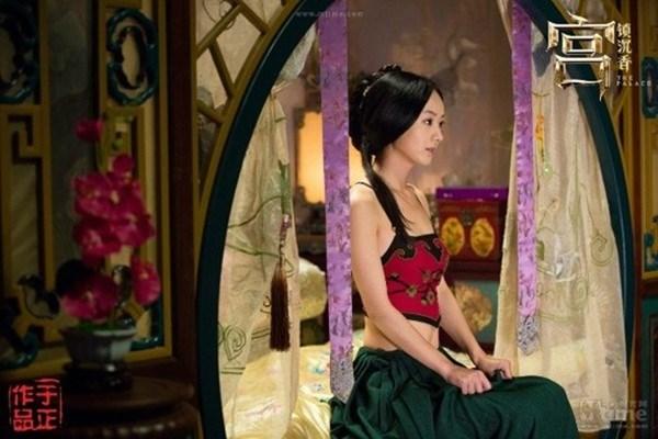 Đốt mắt với tạo hình cổ trang khoe vai trần của mỹ nữ Hoa ngữ - Ảnh 4.