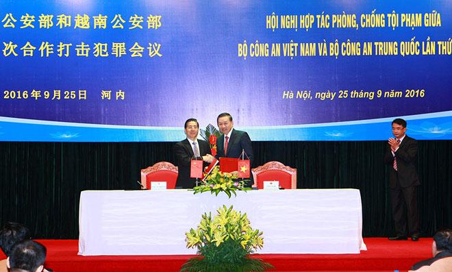 Tăng cường hợp tác phòng, chống tội phạm giữa Bộ Công an Việt Nam và Bộ Công an Trung Quốc  - Ảnh 4.