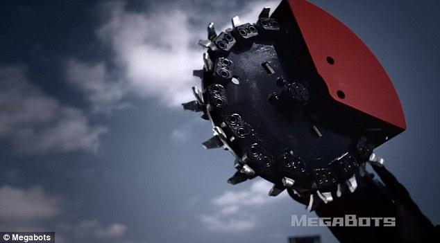 Robot Mỹ biểu trưng sức mạnh: nhấc xe ô tô lên cao rồi ném xuống đất vỡ vụn - Ảnh 5.