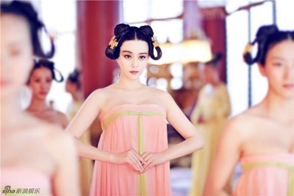 Đốt mắt với tạo hình cổ trang khoe vai trần của mỹ nữ Hoa ngữ - Ảnh 5.