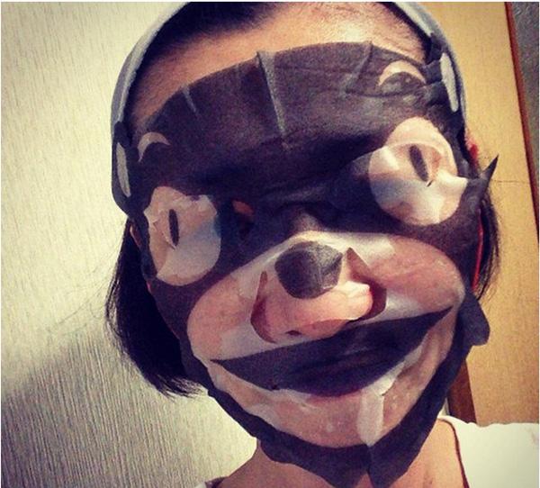 Phát hoảng với những kiểu đắp mặt nạ dọa ma của chị em - Ảnh 7.