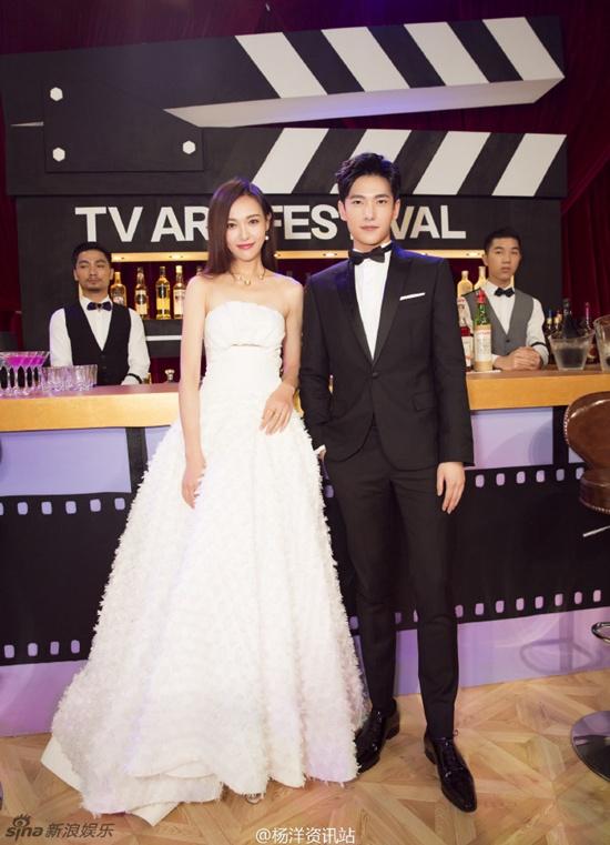 Hồ Ca và Triệu Lệ Dĩnh giành chiến thắng tại Lễ trao giải Kim Ưng 2016 - Ảnh 9.