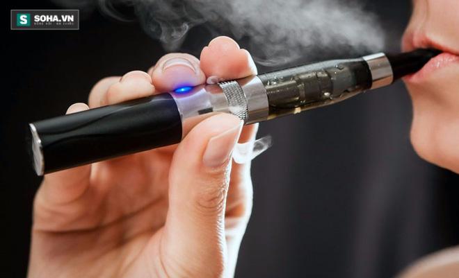 Tác hại kinh hoàng của Vape - thuốc lá điện tử - Ảnh 1.