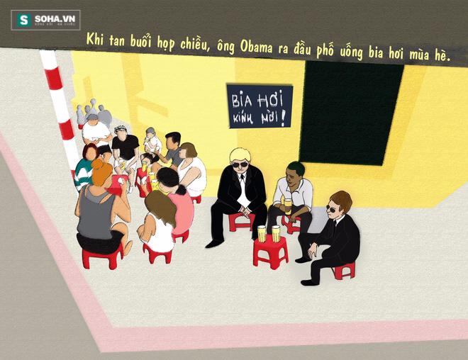 Đến Việt Nam, Obama có chọn đi xích lô, uống bia vỉa hè và phượt? - Ảnh 4.