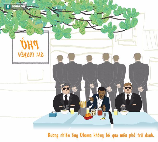 Đến Việt Nam, Obama có chọn đi xích lô, uống bia vỉa hè và phượt? - Ảnh 7.